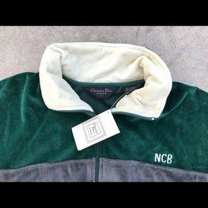 1e68a49d0751 Dior Jackets   Coats   Nwt Christian Velour Tracksuit   Poshmark